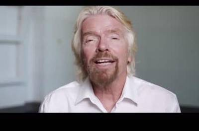 News video: Sir Richard Branson And Bear Grylls Launch Space Competition